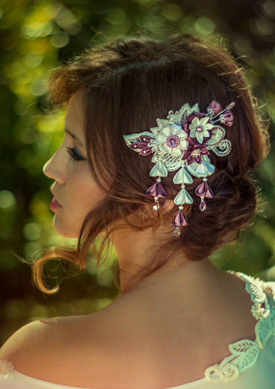 Whimsical Bridal Headpieces