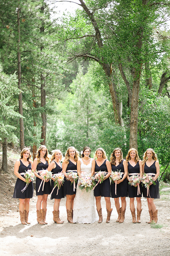 rustic bridesmaid dress ideas
