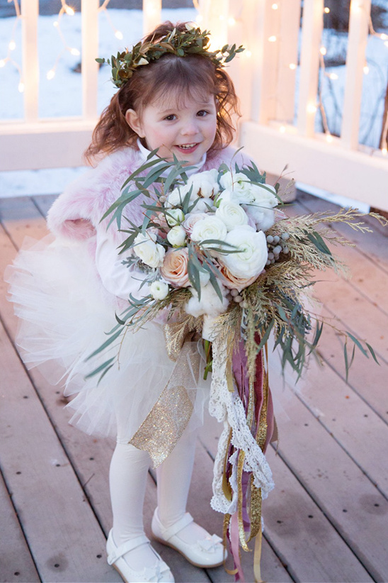 winter flower girl ideas