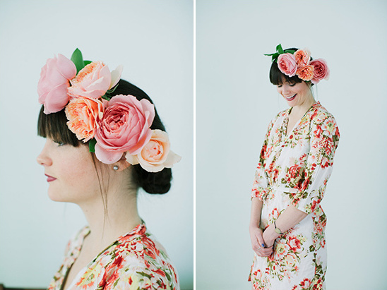 pretty floral crown how to