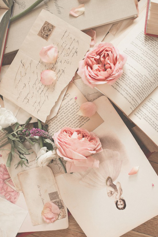 love letters and romance books