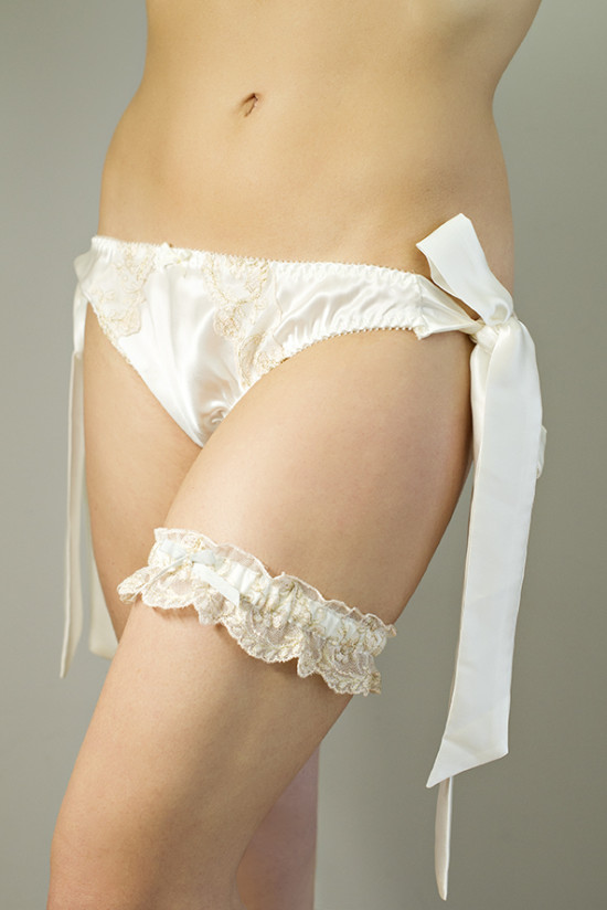 Free Garter When You Spend £100/$160 on Bridal Lingerie