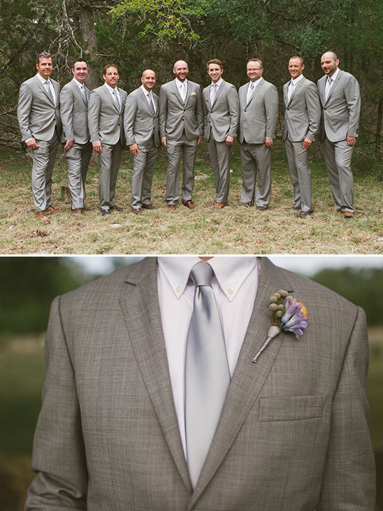 gray groomsmen suit ideas