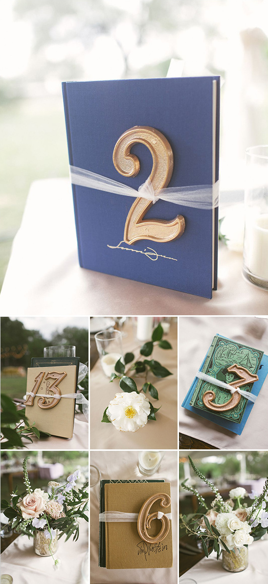table numbers tied to classic books