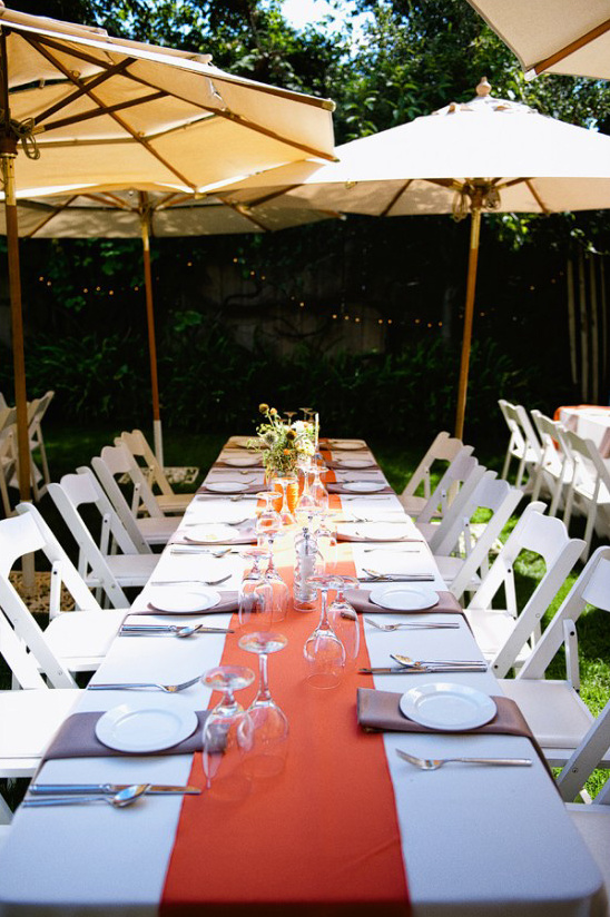 beautiful fall reception ideas