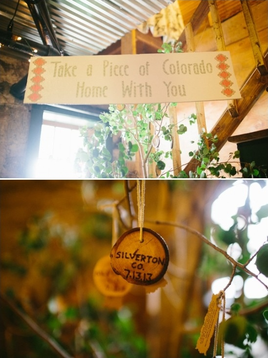Take a piece of Colorado home with you sign