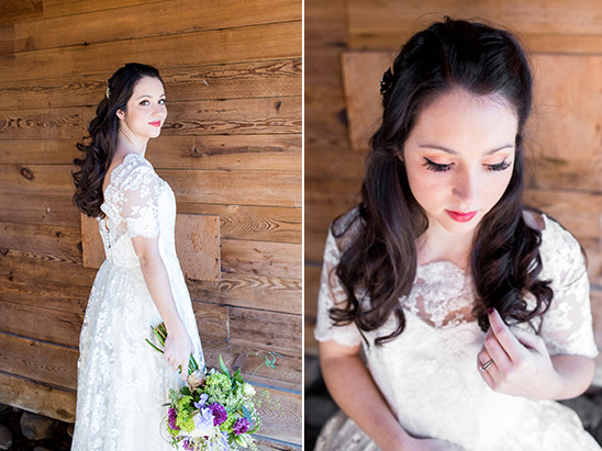lace wedding gown from truly bridal