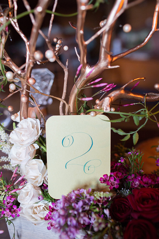 curled script table numbers
