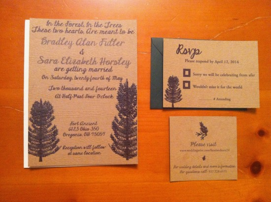 Pine Tree Wedding Package