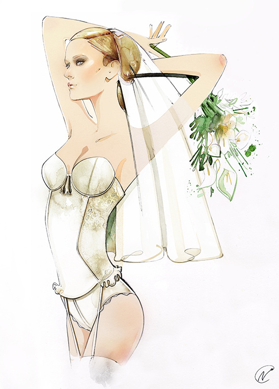 bridal lingerie by Triumph