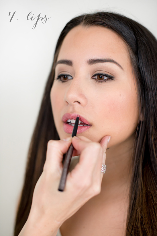how to wear lipstick for your wedding