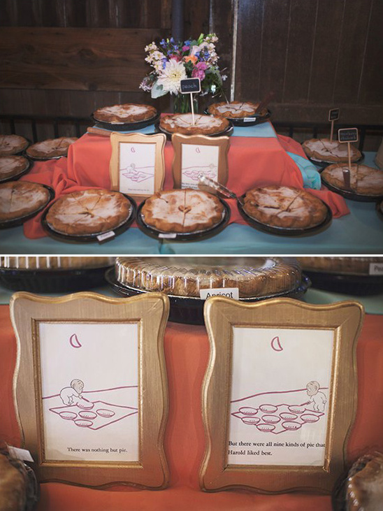 nothing but pies pie table