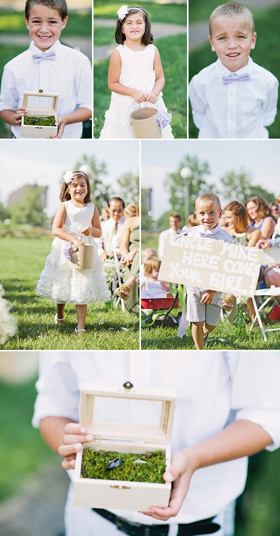 ring bearers and flower girl ideas