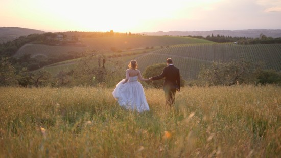 Country Wedding Video in Tuscany, Italy