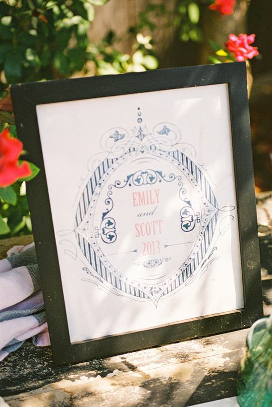 emily and scott wedding logo