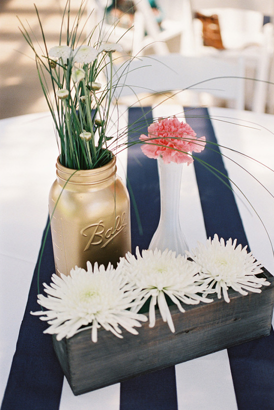 daisy and carnation centerpieces