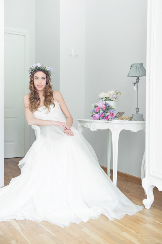 beautiful bride ready for her big day