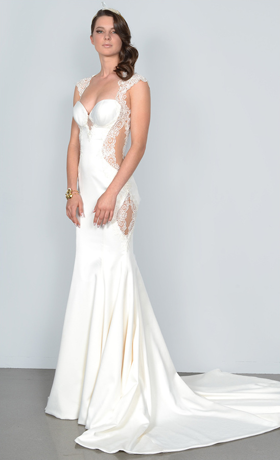 sultry wedding gown from Galia Lahav