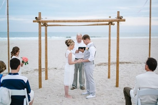 Jordan & Sharon's intimate beach wedding.