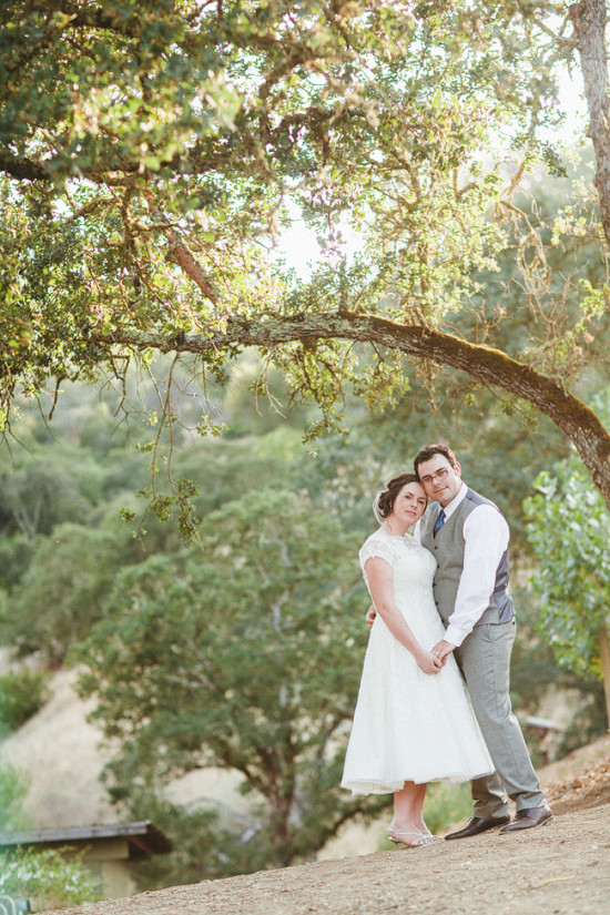 Sweet backyard Napa Wedding by Heather Elizabeth Photography