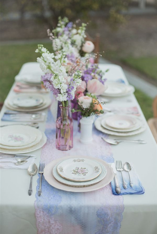 vintage wedding reception ideas