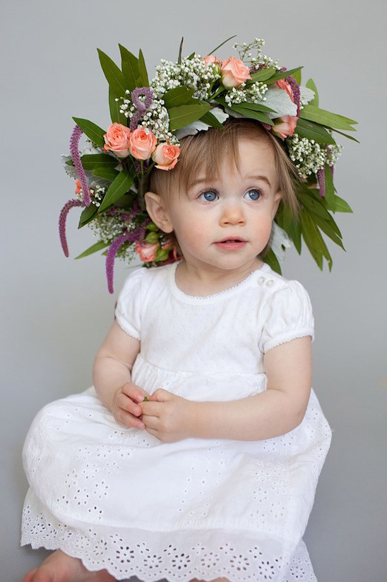 make your own floral crown