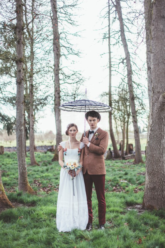 rainy wedding inspiration