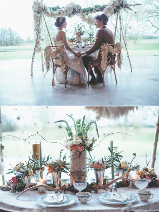 dreamy sweetheart table
