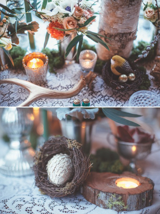 woodland table decor
