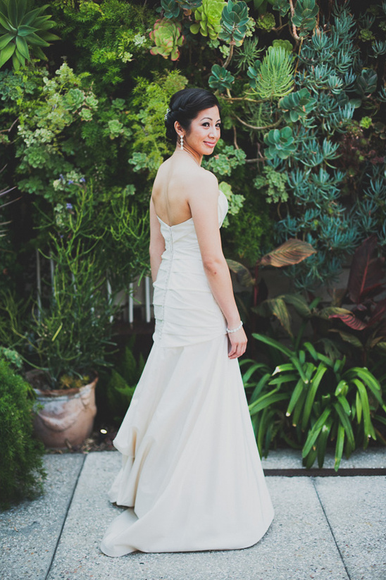 wedding dress by Mikaella Bridal