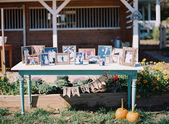 family generations photo table