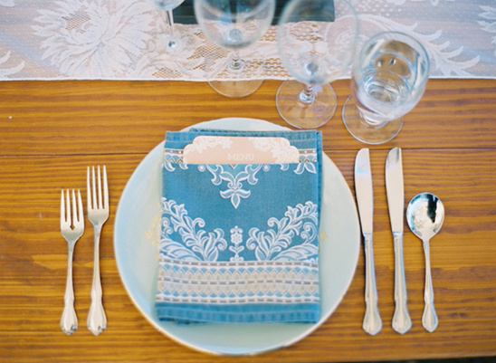 patterned cloth napkins