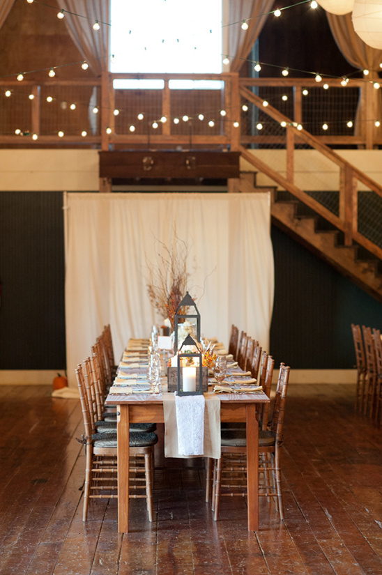 family seating style reception