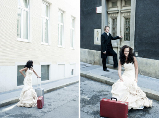 After Wedding Shoot & Trash the Dress, Austria
