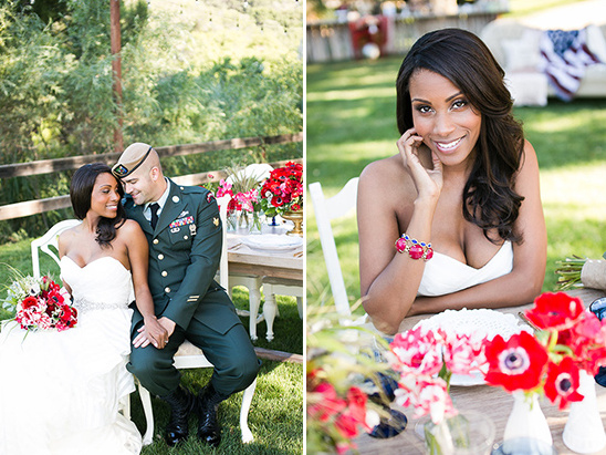 Red, White, And Blue Wedding Ideas