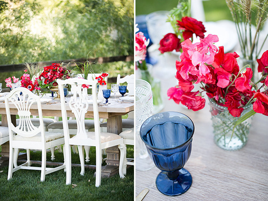 Red White And Blue Wedding Decor Ideas