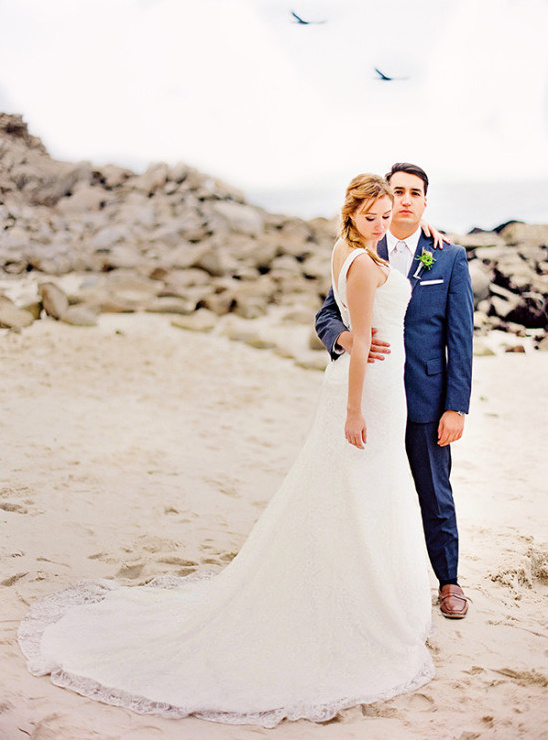 gorgeous beach wedding