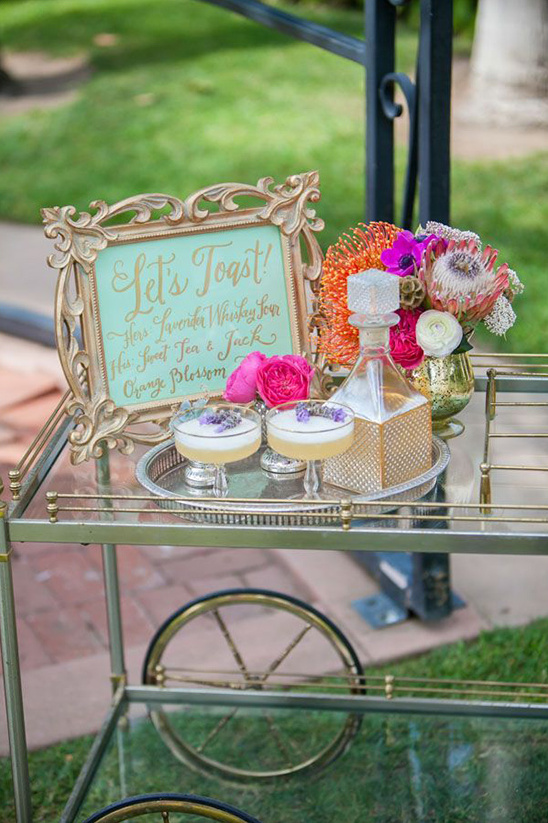 let's toast drink cart