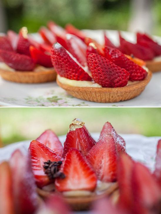 lovely strawberry tarts