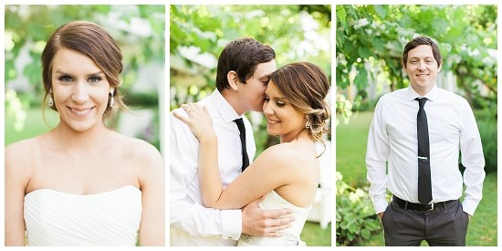 Sweet Oregon Park Wedding