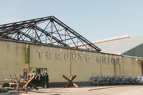 toronto brick building venue