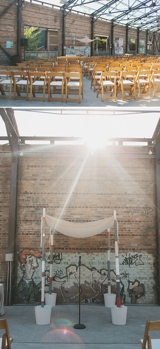 eclectic wedding ceremony venue