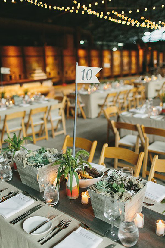 flags for table numbers
