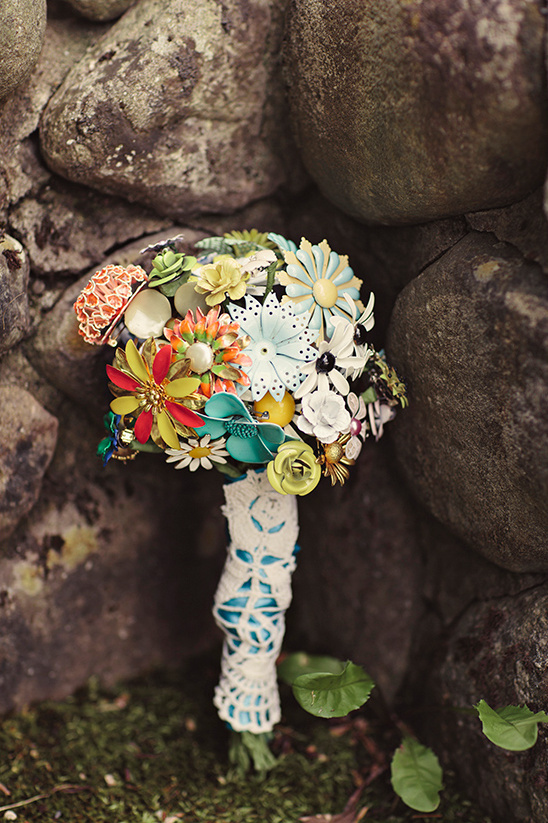 non floral bouquet idea