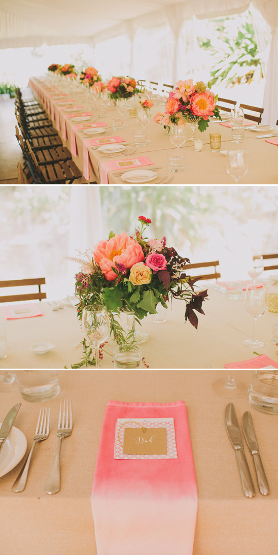 ombre wedding decor ideas