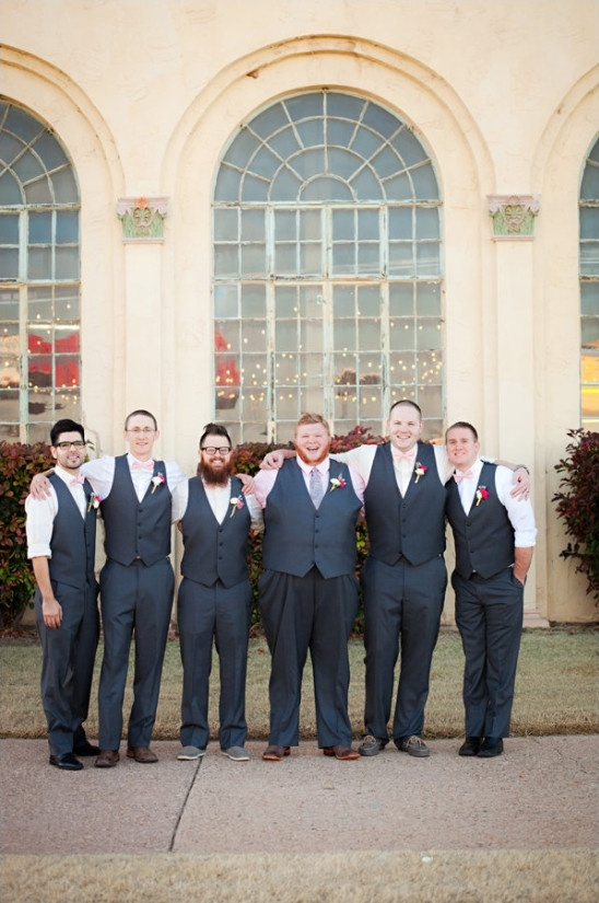 grey vest and slacks groomsmen