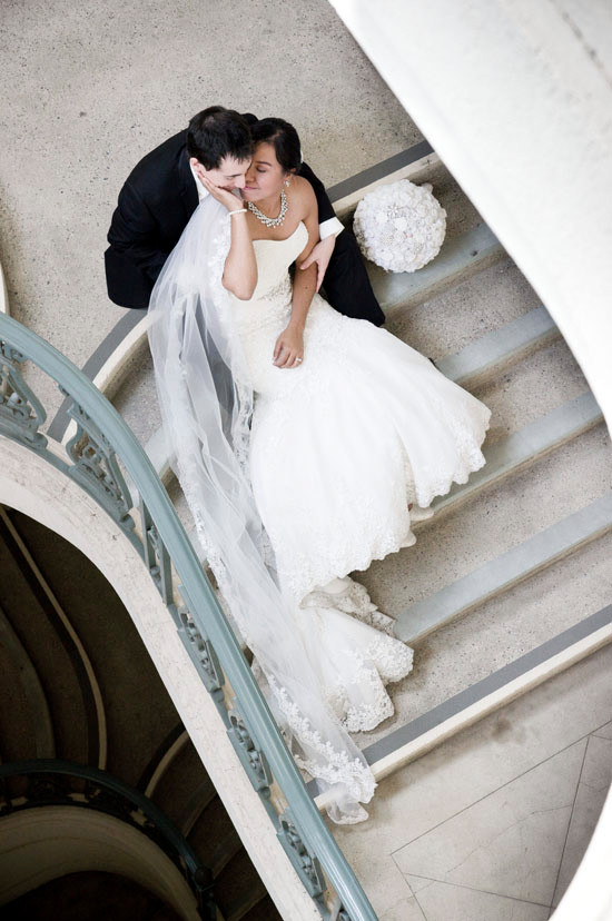 Day-After Wedding Session at Pasadena City Hall