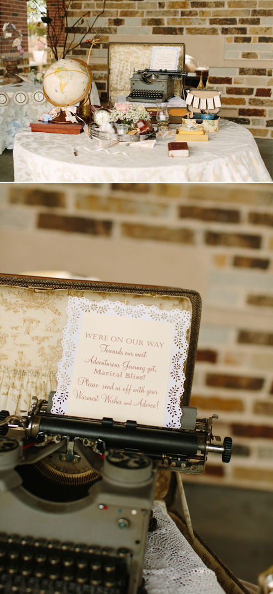 warm wishes guestbook idea