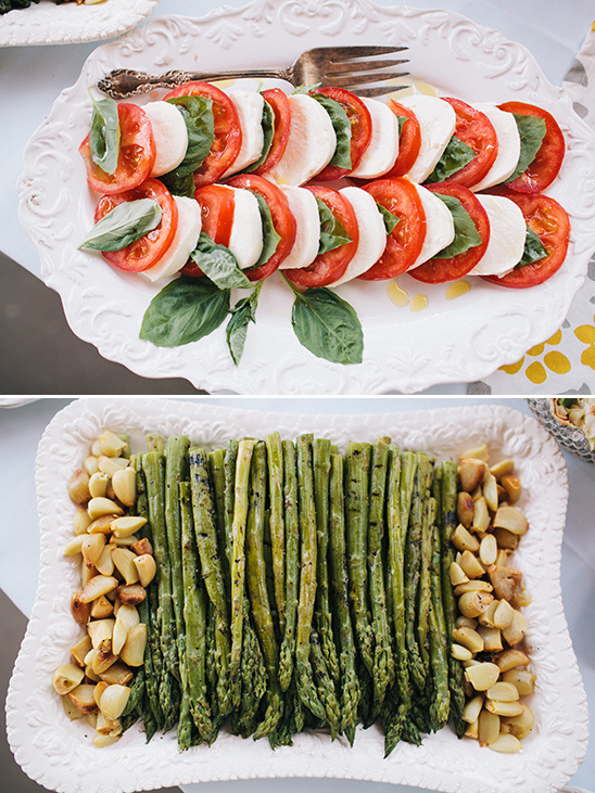 vegetarian options for your bridal shower menu