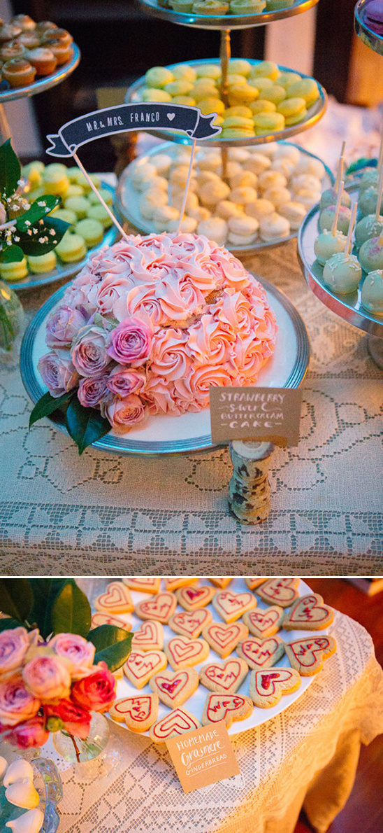 colorful desserts table